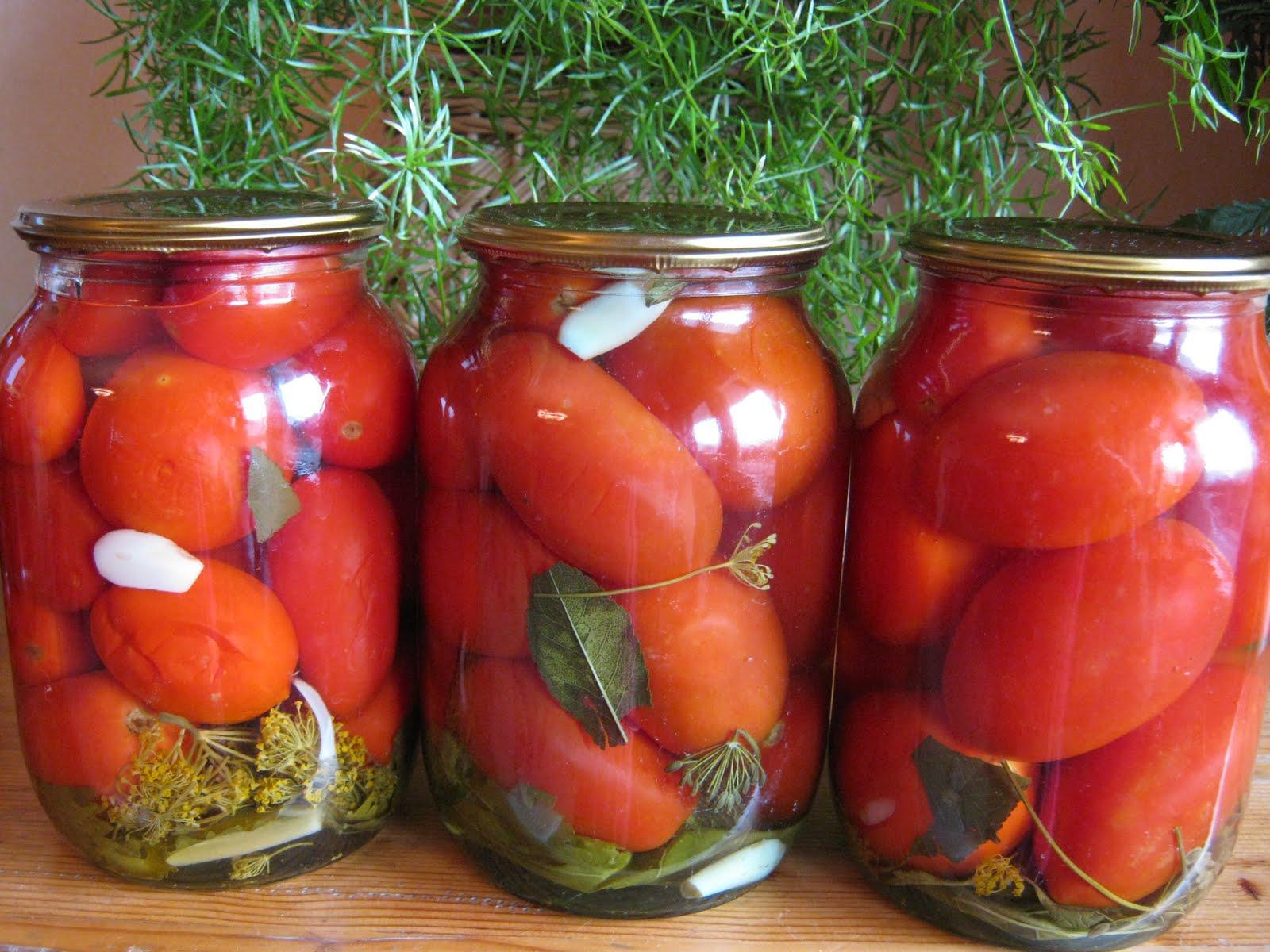 Маринад для красных помидор на зиму иаринад на 1л
